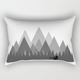 MTB Trailz Rectangular Pillow