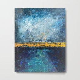 Abstract 2 Metal Print