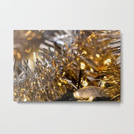 Golden Cheer IV Metal Print