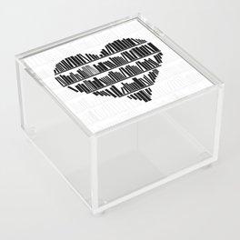 Book Lover II Acrylic Box