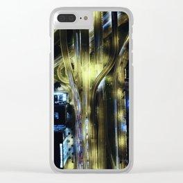Autopista Clear iPhone Case