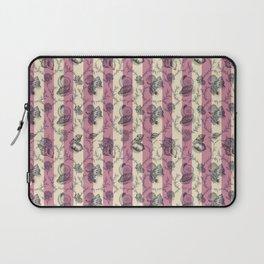 Stripes & Shells - red Laptop Sleeve