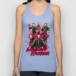 LEGENDS OF HORROR COLOR Unisex Tank Top