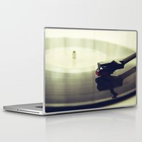 record Laptop & iPad Skins featuring Record player by josemanuelerre