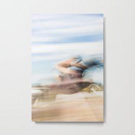 Horse Riding Dreams Metal Print