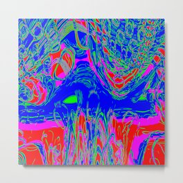 Abstract Background Wallpaper / GFTBackground210 Metal Print