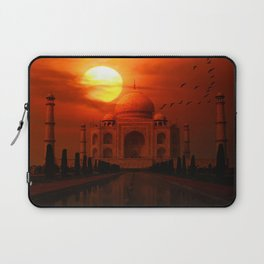 Taj Mahal Sunset Laptop Sleeve