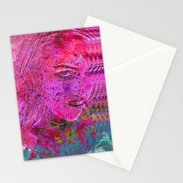 Lustful glance Stationery Cards