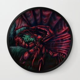Whisperer in the Darkness Wall Clock