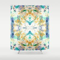 antique Shower Curtains featuring ANTIQUE by Happy as Flynn