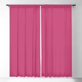 Monochrome Color of the year 2001 Fuchsia rose Blackout Curtain