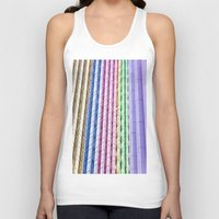 urban Tank Tops featuring Urban  by Maite Pons