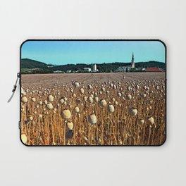 Poppy fields with a sunburn Laptop Sleeve