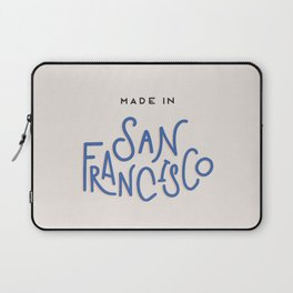 Made in San Francisco Laptop Sleeve