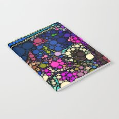 Stained Glass Jewels Notebook