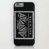 Eat, or Die (black) iPhone 6s Slim Case