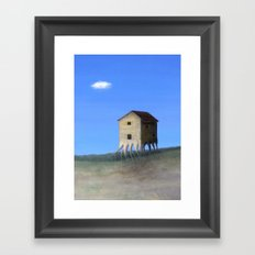 House Roots Framed Art Print