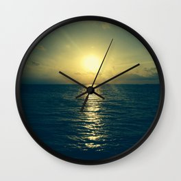 Even the end is beautiful Wall Clock