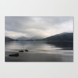 Windermere from Low Wray - the Lake District, England Canvas Print
