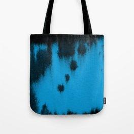 Turquoise blur Tote Bag