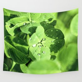 Live In Clover Wall Tapestry
