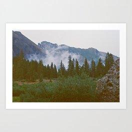 Colorado Fog Art Print