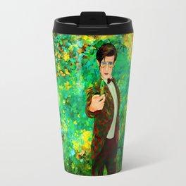 11th Doctor abstract art Travel Mug