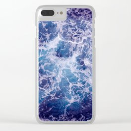 Living Ocean v4 Clear iPhone Case