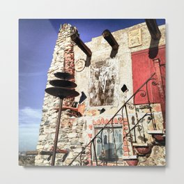 Mystery Castle Metal Print