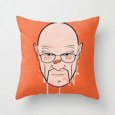 Walter White - Breaking Bad Throw Pillow
