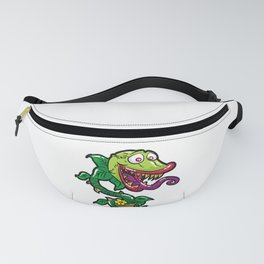 HAPPY VENUS FLYTRAP carnivorous plant funny gift Fanny Pack