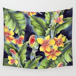 Tiki Talk Wall Tapestry