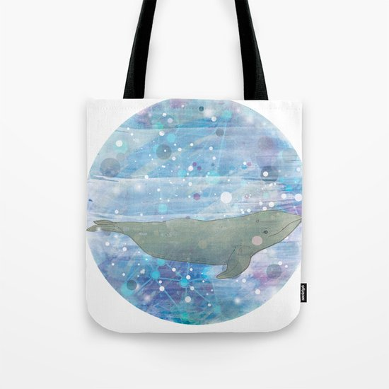 Illustration Friday: Round Tote Bag