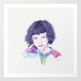 Luma Art Print