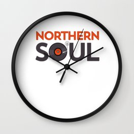 Northern Soul graphic - Mod Clothing - Trojan Skinheads Wall Clock