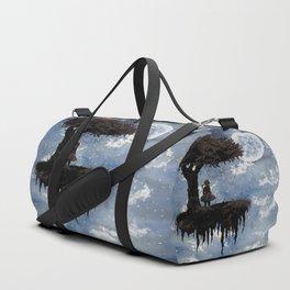 The Girl Among The Stars Duffle Bag