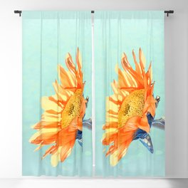 Sunflower Daze Blackout Curtain