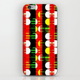 Clashing Creativity iPhone Skin