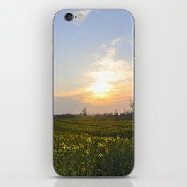 Blooming in yellow ## iPhone Skin