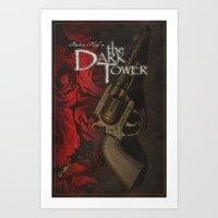 dark tower Art Prints featuring Dark Tower by JAGraphic