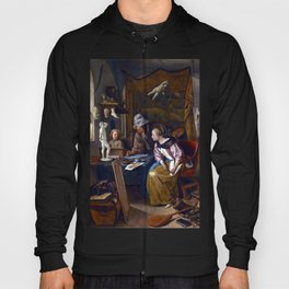 Jan Steen The Drawing Lesson Hoody