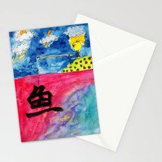 Sentiment Fishing Stationery Cards