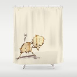 #coffeemonsters 503 Shower Curtain
