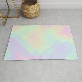 rhombus fantasy oily Rug