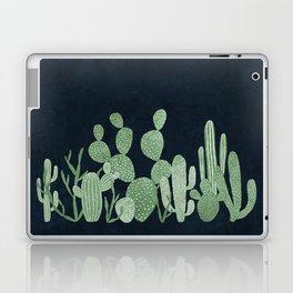 Green cactus garden Laptop & iPad Skin
