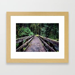 Into the Jungle Framed Art Print