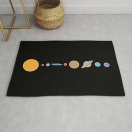 Flat Earth Conspiracy Theory Humor Rug