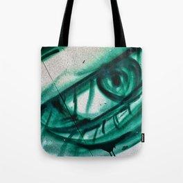 Green-eyed Beauty Tote Bag