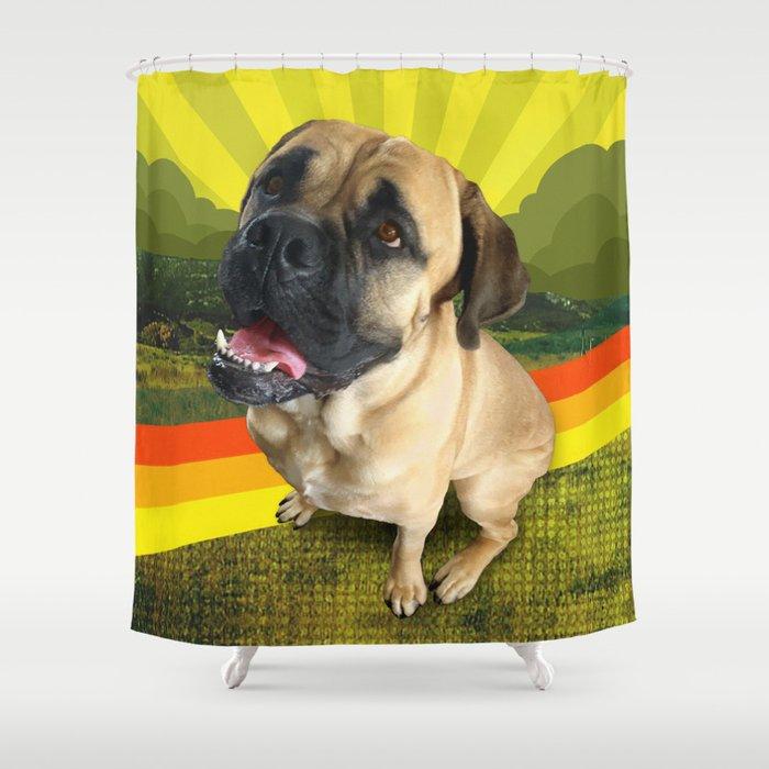 HANDSOME land Shower Curtain