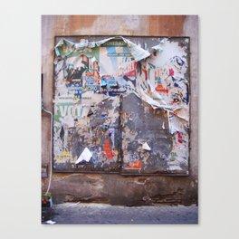 roma 398 Canvas Print